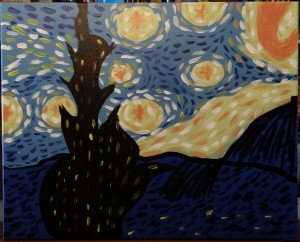 starry nite by becky 1